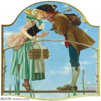 【打印级】ZSHR191111170-诺曼洛克威尔Norman Rockwell美国20世纪早期画家插画作品集插画作品高清图片-22M-2420X3216