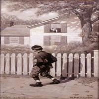 【打印级】ZSHR191111163-诺曼洛克威尔Norman Rockwell美国20世纪早期画家插画作品集插画作品高清图片-21M-1906X3907