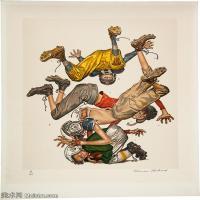 【打印级】ZSHR191111166-诺曼洛克威尔Norman Rockwell美国20世纪早期画家插画作品集插画作品高清图片-21M-2502X3000