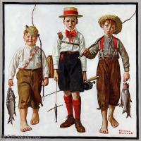 【打印级】ZSHR191111191-诺曼洛克威尔Norman Rockwell美国20世纪早期画家插画作品集插画作品高清图片-25M-2990X3022