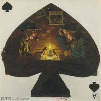 【打印级】ZSHR191111187-诺曼洛克威尔Norman Rockwell美国20世纪早期画家插画作品集插画作品高清图片-24M-2667X3202