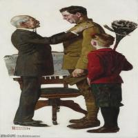 【打印级】ZSHR191111177-诺曼洛克威尔Norman Rockwell美国20世纪早期画家插画作品集插画作品高清图片-23M-2092X4000