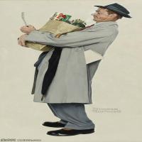 【欣赏级】ZSHR191111157-诺曼洛克威尔Norman Rockwell美国20世纪早期画家插画作品集插画作品高清图片-20M-1810X4000