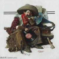 【打印级】ZSHR191111181-诺曼洛克威尔Norman Rockwell美国20世纪早期画家插画作品集插画作品高清图片-24M-2645X3202