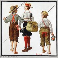 【打印级】ZSHR191111192-诺曼洛克威尔Norman Rockwell美国20世纪早期画家插画作品集插画作品高清图片-25M-3008X3007