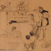 【打印级】ZSHR191111162-诺曼洛克威尔Norman Rockwell美国20世纪早期画家插画作品集插画作品高清图片-21M-2444X3000