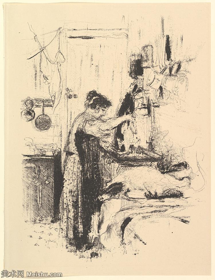 【打印级】SMR181514021-维亚尔爱德华Edouard Vuillard法国纳比派代表画家高清那比派绘画作品素描