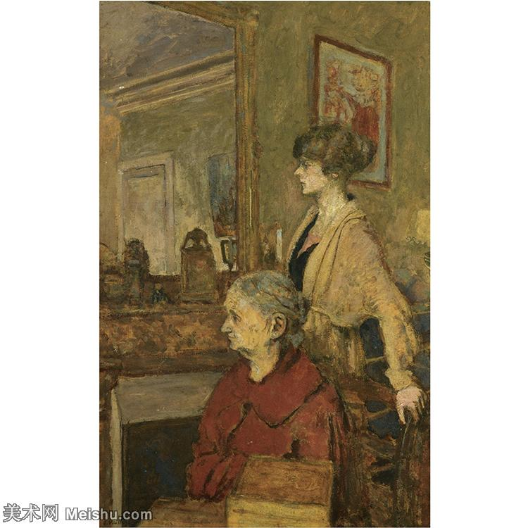 YHR181516059-维亚尔爱德华Edouard Vuillard法国纳比派代表画家高清那比派绘画作品集-11M-2
