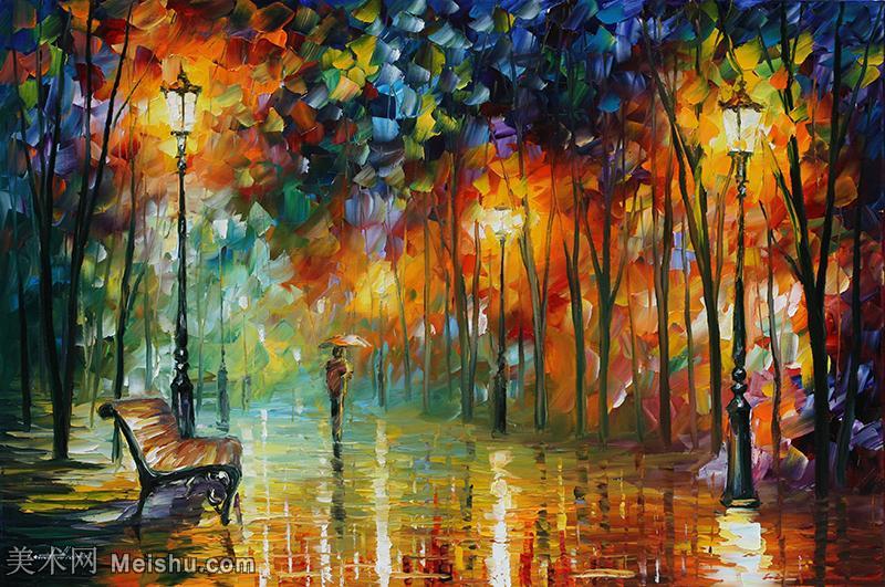 【打印级】YHR190949181-李奥尼德阿夫列莫夫Leonid Afremov白俄罗斯现代印象派艺术家绘画作品集油画