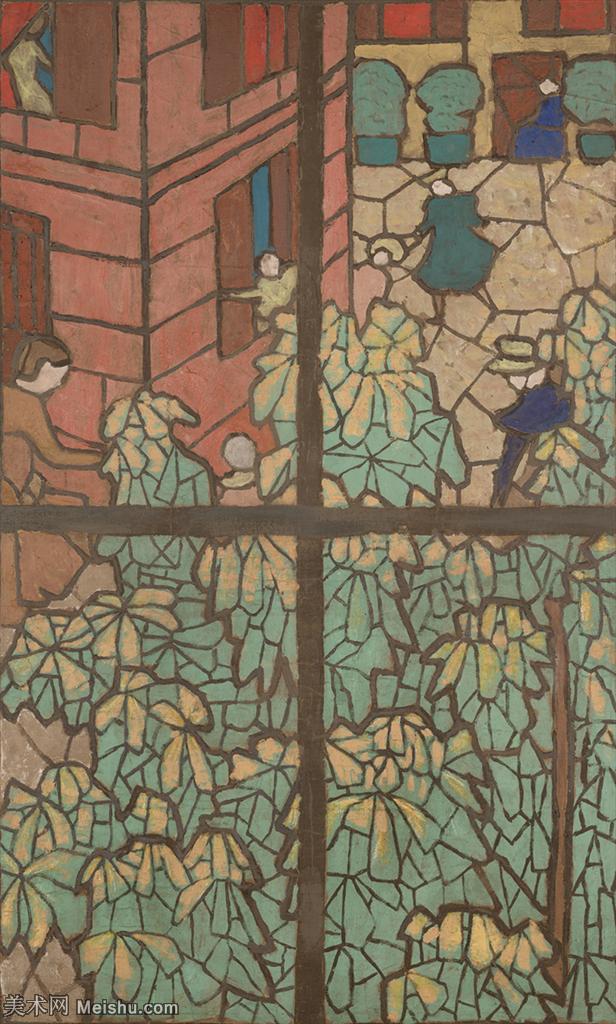 YHR181516009-维亚尔爱德华Edouard Vuillard法国纳比派代表画家高清那比派绘画作品集-6M-12