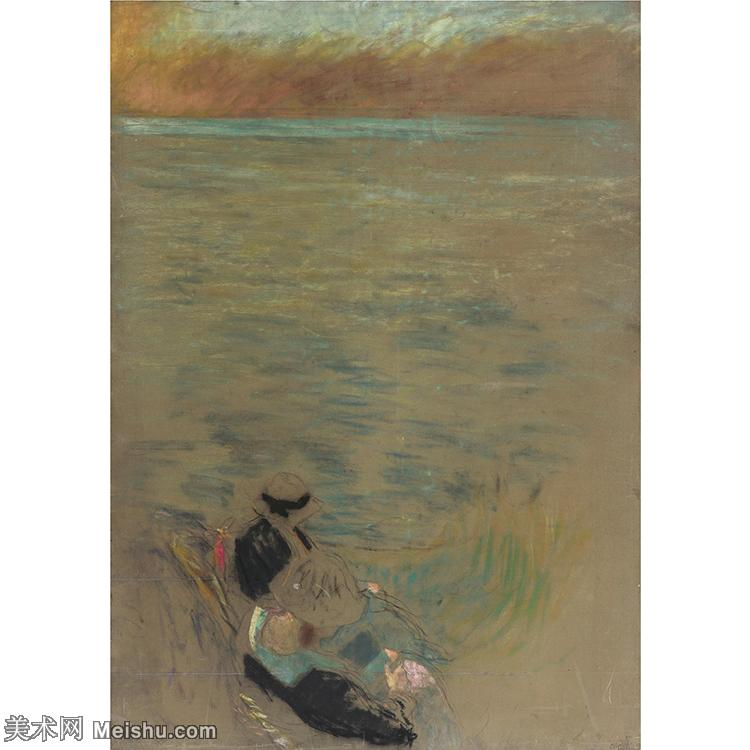 YHR181516040-维亚尔爱德华Edouard Vuillard法国纳比派代表画家高清那比派绘画作品集-11M-2