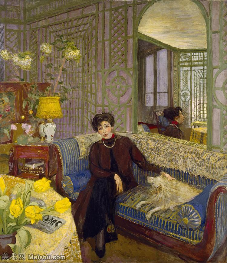 YHR181516089-维亚尔爱德华Edouard Vuillard法国纳比派代表画家高清那比派绘画作品集-14M-2