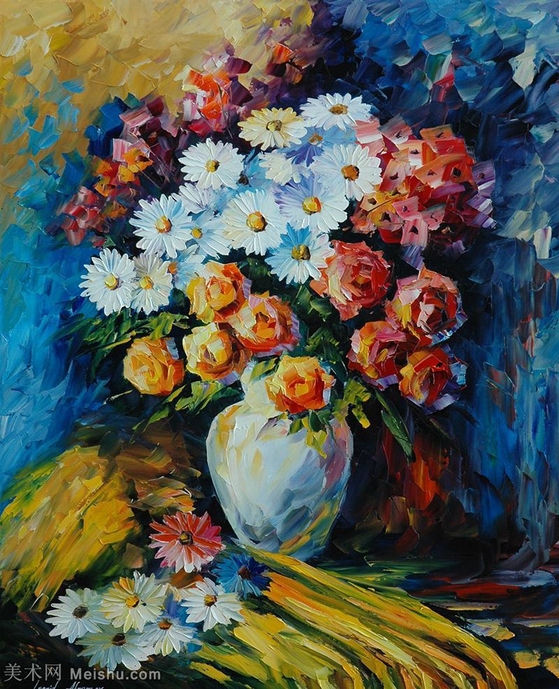 【欣赏级】YHR190949015-李奥尼德阿夫列莫夫Leonid Afremov白俄罗斯现代印象派艺术家绘画作品集油画