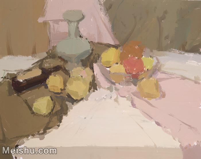 【超顶级】SF-10120687-水粉静物美院优秀试卷优秀考生绘画作品艺考高分题库高清图片-169M-7481X5921