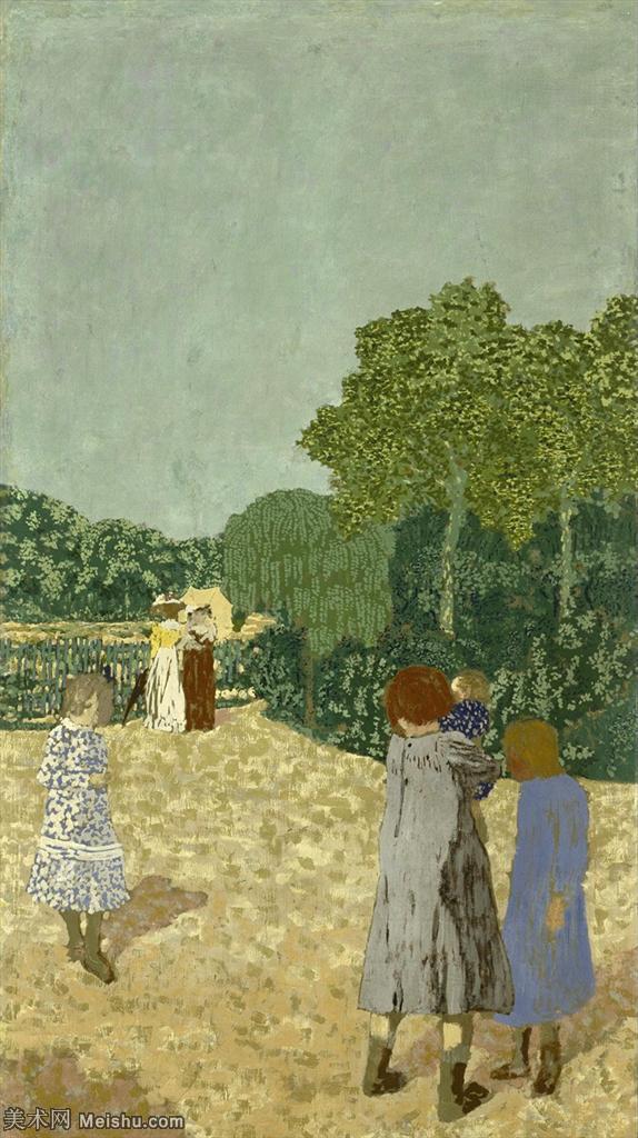 YHR181516005-维亚尔爱德华Edouard Vuillard法国纳比派代表画家高清那比派绘画作品集-5M-10