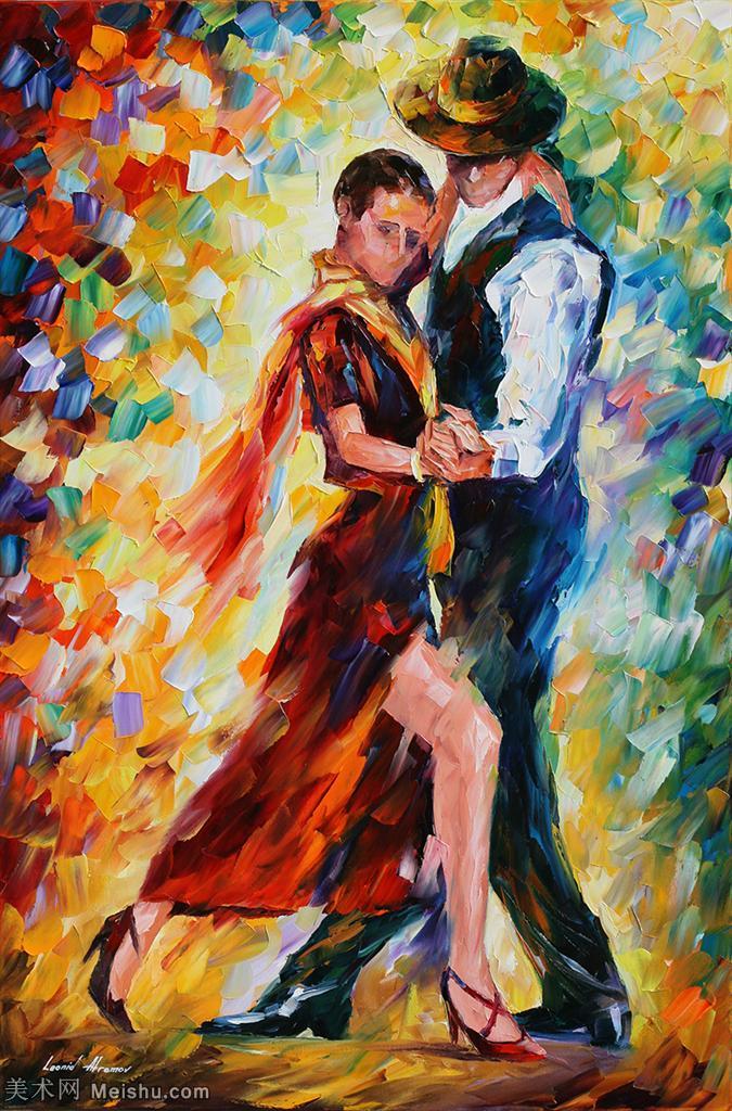 【打印级】YHR190949184-李奥尼德阿夫列莫夫Leonid Afremov白俄罗斯现代印象派艺术家绘画作品集油画