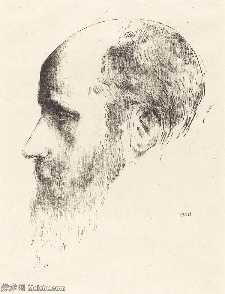 【欣赏级】SMR181514013-维亚尔爱德华Edouard Vuillard法国纳比派代表画家高清那比派绘画作品素描