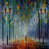 【欣赏级】YHR190949076-李奥尼德阿夫列莫夫Leonid Afremov白俄罗斯现代印象派艺术家绘画作品集油画作品高清图片-20M-3688X1960