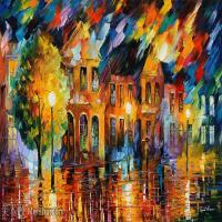 【打印级】YHR190949080-李奥尼德阿夫列莫夫Leonid Afremov白俄罗斯现代印象派艺术家绘画作品集油画作品高清图片-21M-3656X2016