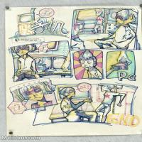 【印刷级】MH-10120101-漫画设计美院设计作品高分试卷高清图片-99M-4892X7104