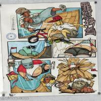 【印刷级】MH-10120100-漫画设计美院设计作品高分试卷高清图片-99M-4965X7008