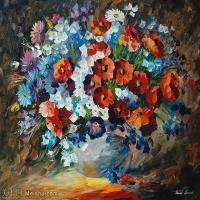 【欣赏级】YHR190949014-李奥尼德阿夫列莫夫Leonid Afremov白俄罗斯现代印象派艺术家绘画作品集油画作品高清图片-11M-2260X1796