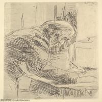 【打印级】SMR181514023-维亚尔爱德华Edouard Vuillard法国纳比派代表画家高清那比派绘画作品素描手稿底稿图片资料-28M-2468X4000