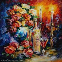 【欣赏级】YHR190949018-李奥尼德阿夫列莫夫Leonid Afremov白俄罗斯现代印象派艺术家绘画作品集油画作品高清图片-11M-1808X2280
