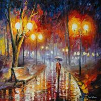 【欣赏级】YHR190949030-李奥尼德阿夫列莫夫Leonid Afremov白俄罗斯现代印象派艺术家绘画作品集油画作品高清图片-12M-2300X1832