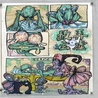 【印刷级】MH-10120104-漫画设计美院设计作品高分试卷高清图片-101M-5061X7008