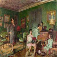 YHR181516197-维亚尔爱德华Edouard Vuillard法国纳比派代表画家高清那比派绘画作品集-67M-5547X4226