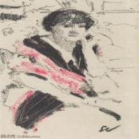 【打印级】SMR181514028-维亚尔爱德华Edouard Vuillard法国纳比派代表画家高清那比派绘画作品素描手稿底稿图片资料-35M-2874X4320