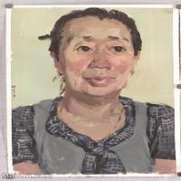 【印刷級】SF-10122539-水粉人物美院藝考優秀試卷模擬測試高分作品純藝術考試人物半身像頭像高清高清圖片-62M-3371X4835