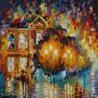 【欣赏级】YHR190949013-李奥尼德阿夫列莫夫Leonid Afremov白俄罗斯现代印象派艺术家绘画作品集油画作品高清图片-11M-2280X1776
