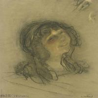 【打印级】SMR181514017-维亚尔爱德华Edouard Vuillard法国纳比派代表画家高清那比派绘画作品素描手稿底稿图片资料-23M-2541X3204