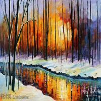 【打印级】YHR190949182-李奥尼德阿夫列莫夫Leonid Afremov白俄罗斯现代印象派艺术家绘画作品集油画作品高清图片-26M-3720X2496