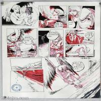 【印刷级】MH-10120105-漫画设计美院设计作品高分试卷高清图片-95M-4840X6880