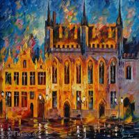 【欣赏级】YHR190949017-李奥尼德阿夫列莫夫Leonid Afremov白俄罗斯现代印象派艺术家绘画作品集油画作品高清图片-11M-2288X1784