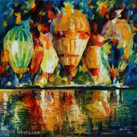 【欣赏级】YHR190949074-李奥尼德阿夫列莫夫Leonid Afremov白俄罗斯现代印象派艺术家绘画作品集油画作品高清图片-20M-3008X2392