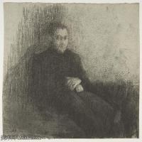 【打印级】SMR181514026-维亚尔爱德华Edouard Vuillard法国纳比派代表画家高清那比派绘画作品素描手稿底稿图片资料 -31M-3433X3157