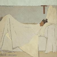 【打印级】SMR181514029-维亚尔爱德华Edouard Vuillard法国纳比派代表画家高清那比派绘画作品素描手稿底稿图片资料-35M-4020X3094