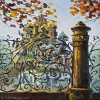 【印刷级】YHR190949189-李奥尼德阿夫列莫夫Leonid Afremov白俄罗斯现代印象派艺术家绘画作品集油画作品高清图片-42M-3389X4384