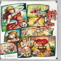 【印刷级】MH-10120106-漫画设计美院设计作品高分试卷高清图片-100M-5103X6880