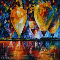 【欣赏级】YHR190949072-李奥尼德阿夫列莫夫Leonid Afremov白俄罗斯现代印象派艺术家绘画作品集油画作品高清图片-20M-2912X2456