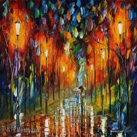 【欣赏级】YHR190949064-李奥尼德阿夫列莫夫Leonid Afremov白俄罗斯现代印象派艺术家绘画作品集油画作品高清图片-19M-3680X1888