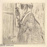【打印级】SMR181514019-维亚尔爱德华Edouard Vuillard法国纳比派代表画家高清那比派绘画作品素描手稿底稿图片资料-26M-3598X2591