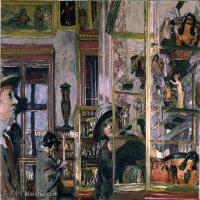 YHR181516198-维亚尔爱德华Edouard Vuillard法国纳比派代表画家高清那比派绘画作品集-70M-5419X4531