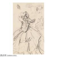【欣赏级】SMR181514007-维亚尔爱德华Edouard Vuillard法国纳比派代表画家高清那比派绘画作品素描手稿底稿图片资料-11M-2000X2000