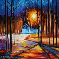 【打印级】YHR190949085-李奥尼德阿夫列莫夫Leonid Afremov白俄罗斯现代印象派艺术家绘画作品集油画作品高清图片-21M-2984X2488