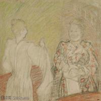 【打印级】SMR181514031-维亚尔爱德华Edouard Vuillard法国纳比派代表画家高清那比派绘画作品素描手稿底稿图片资料-41M-4000X3615